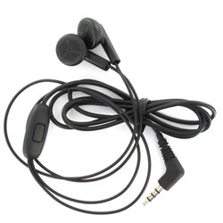 HANDS FREE LG STEREO 3.5MM BLACK BULK