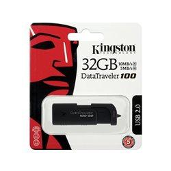 KINGSTON 32GB USB FLSH DRIVE 2.0, DT100G2/32GB