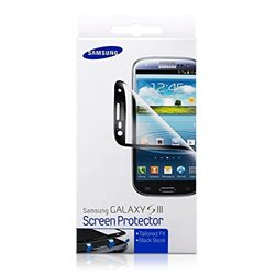 ETC-G1G6BEGSTD Screen protectors for Galaxy S III I9300 (dark blue)