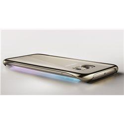 Samsung Clear Cover EF-QG925 for Galaxy S6 Edge, Black